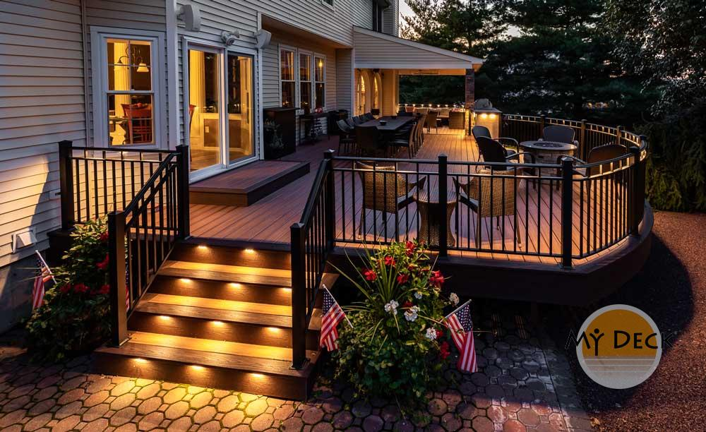 Outdoor Deck Lighting Services My Deck Llc Flemington Nj